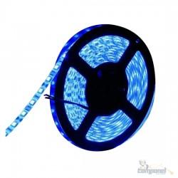Fita Led 5 Metros 5050 A Prova D'agua Azul ip65